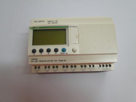 Controlador lógico programável (CLP) zélio 220V  - Mamute Equipamentos - Loja Virtual