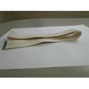 Fita de Saida de algodão com grampo em inox da calandra 8030