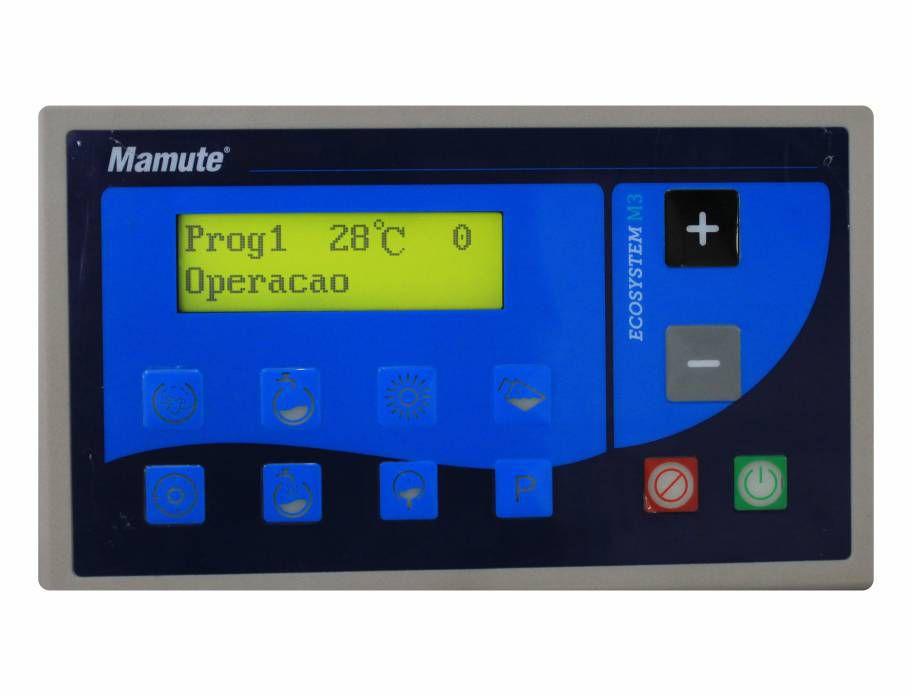 Controlador CLP Ecosystem M3  - Mamute Equipamentos - Loja Virtual