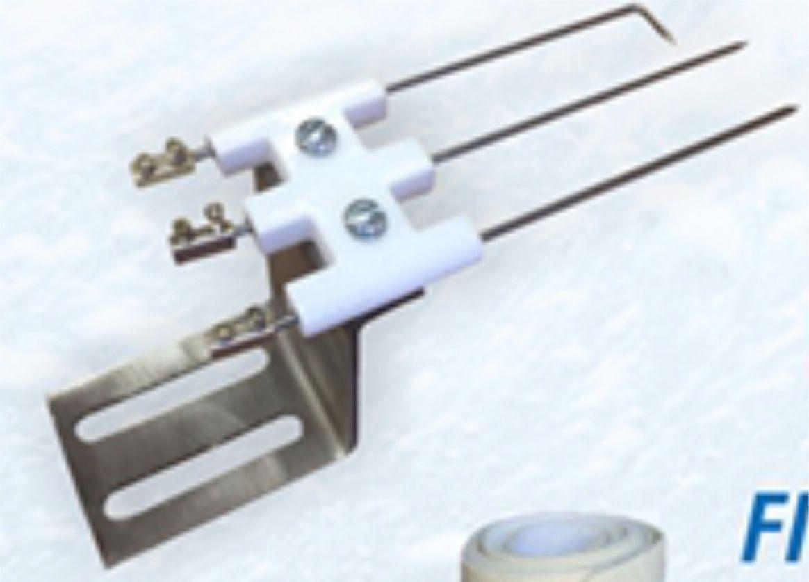 Triplo Eletrodo de ignição com sensor de chama  - Mamute Equipamentos - Loja Virtual