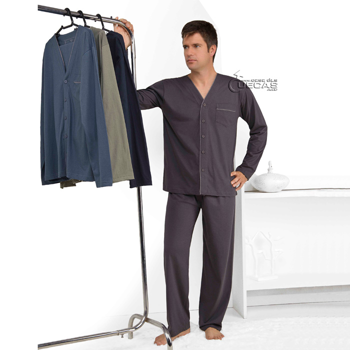 Pijama Fitswell Longo Aberto - 12005