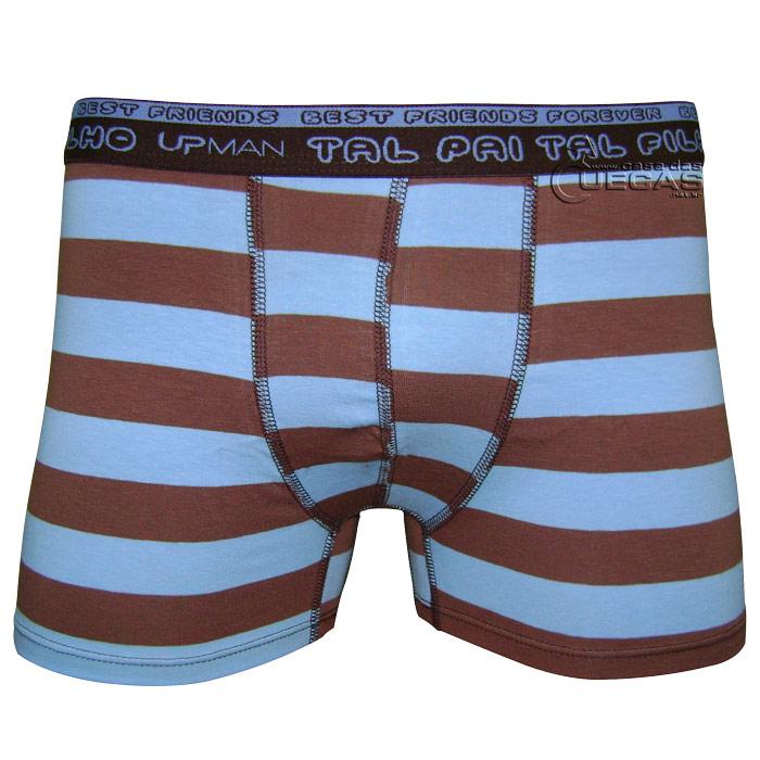 Cueca Upman Boxer Cotton Tal Pai/Tal Filho Juvenil - 928