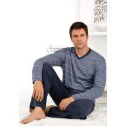 Pijama Fitswell Longo Algodão Gola V - 12004