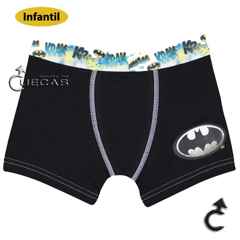 Cueca Boxer Infantil Batman Lupo - 164-003
