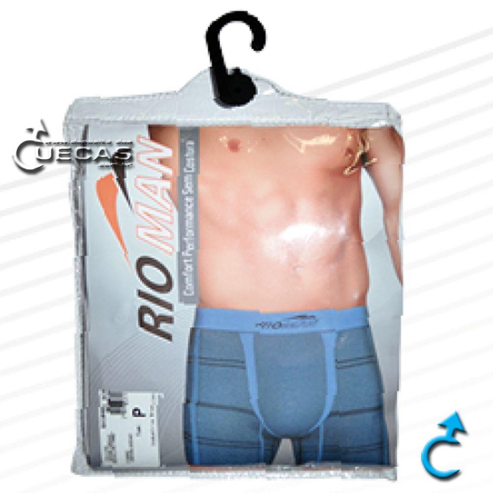 Cueca Boxer Sem Costura RioMan - BX5409.1