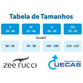 Cueca Boxer Zee Rucci Listrada Sem Costuras - ZR0100-001-1005