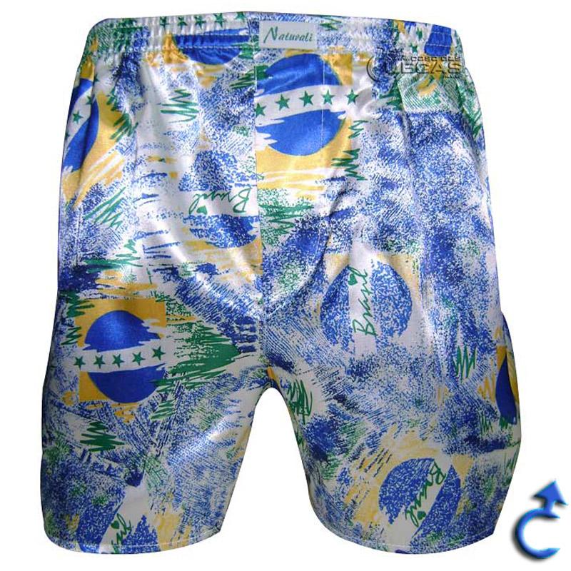 Cueca Brasil Samba-Canção - 192