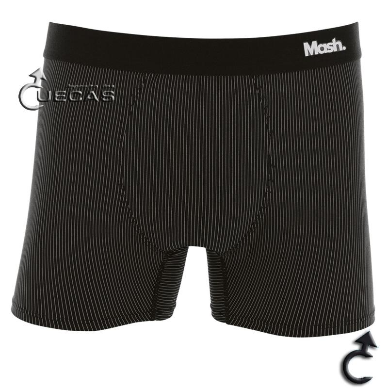 Cueca Mash Boxer Microfibra Risca de Giz - 045.00