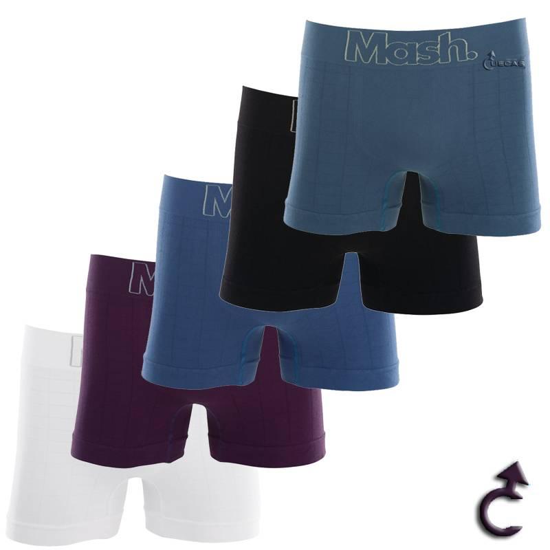 Cueca Mash Boxer Microfibra Sem Costura - 170.19