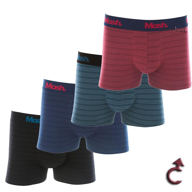 Cueca Mash Boxer Modal Casual - 150.07