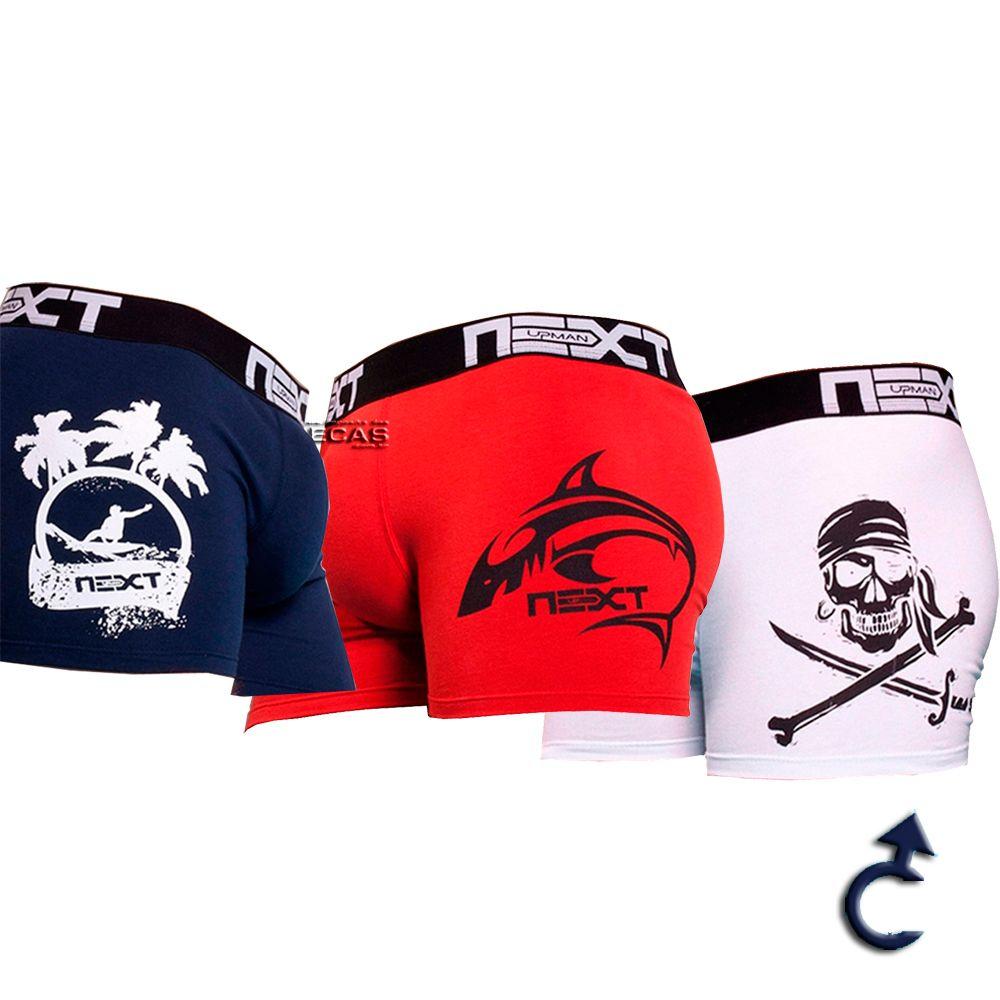 Cueca Upman Boxer Cotton Juvenil - 561C7