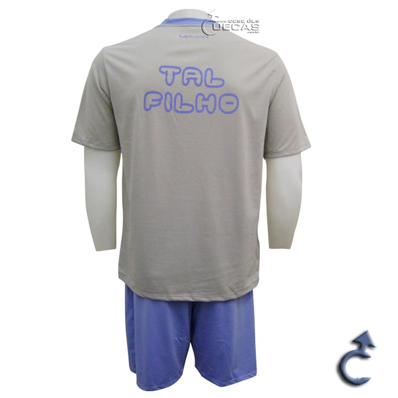 Pijama Masculino Upman Curto Tal Pai/Tal Filho - 028