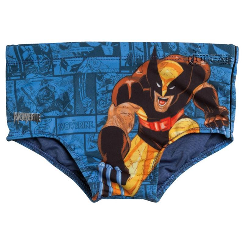 Sungão Infantil do Wolverine Estampado - WV3.01