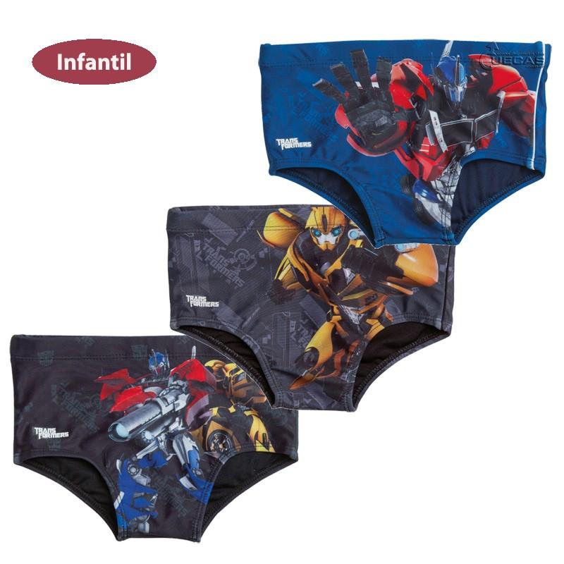 Sungão Infantil Transformers Estampado TF3.07