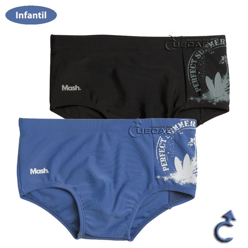 Sungão Liso Infantil C/ Silk Coqueiro - 312.26