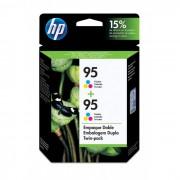Cartucho HP 95 Original CD886FL Color Duplo
