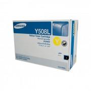 Toner Samsung Original CLT-Y508L Yellow   CLX-6250   CLP-670   CLX-6220   CLP-620