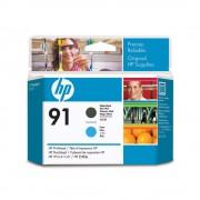Cabeça de Impressão HP 91 C9460A Matte Black   Cyan   Z6100   Z6100ps