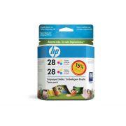Cartucho HP 28 Original CD995FL Color Duplo   3320   4315   5605   1240
