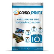 Papel A4 Casa Print fotográfico glossy Double Side 180g pacote 20 Folhas