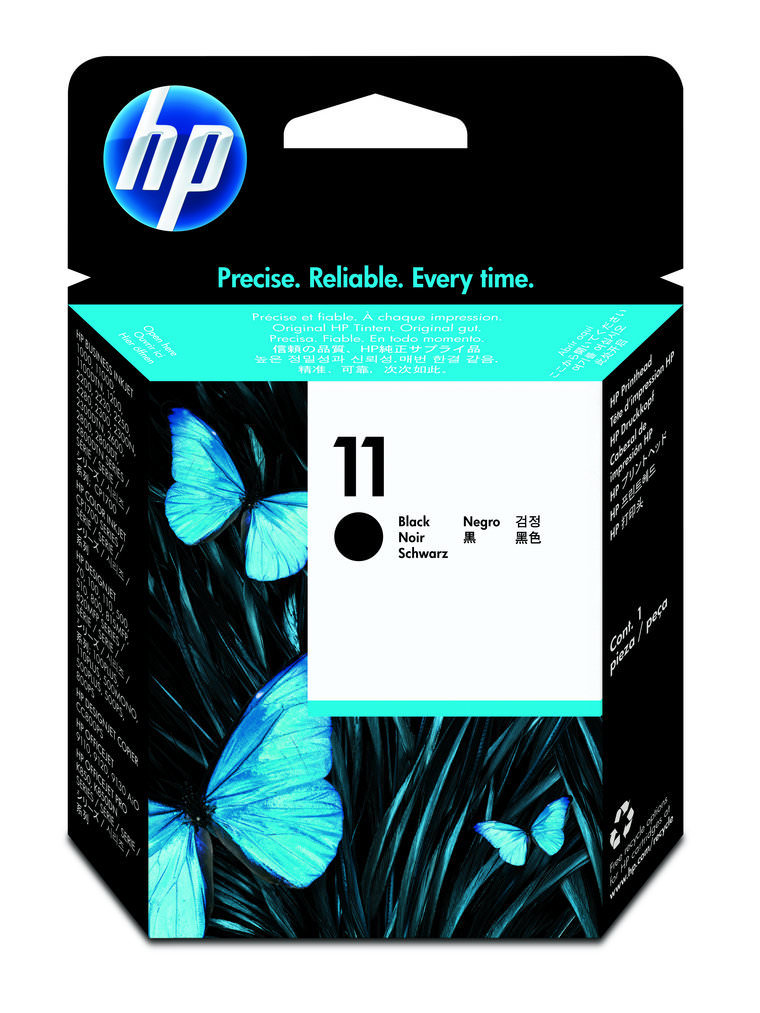 Cabe�a de Impress�o HP 11 C4810A Black