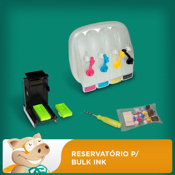 Reservatório para Bulk Ink HP, Canon, Lexmark e Epson  - ECONOMIZOU