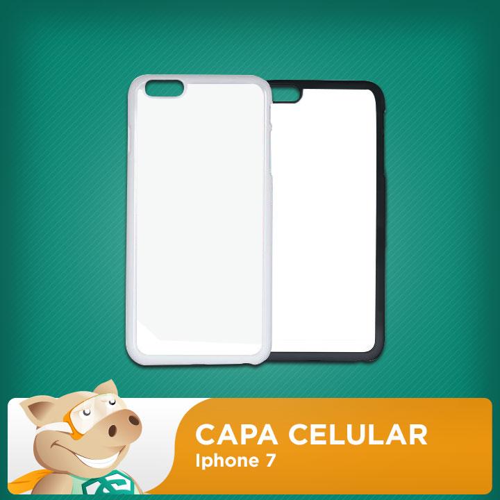 Capa 2D para Sublimação Iphone 7  - ECONOMIZOU