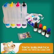 Bulk Ink Epson T25 - TX123 - TX125 - TX133 - TX135 Tinta Sublim�tica