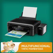 Epson Multifuncional L365 com Bulk + 400ml Tinta Pigmentada