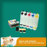 Bulk Ink Epson para T1110 , T33, Tx515 Pigmentada