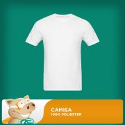 Camisa 100% Poliester 30.1 � Tamanho P