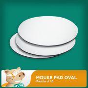 Mouse Pad Redondo Pacote c/10