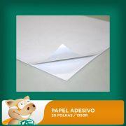Papel Fotogr�fico Adesivo � Prova D'�gua A4 20 Folhas 135gr
