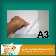Papel Fotogr�fico Adesivo 100 Folhas A3 115gr