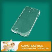 Capa de Celular Galaxy S4 Pl�stica Transparente