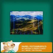 Papel Fotogr�fico 3D Linhado 180gr A4 100 Folhas � Prova D'�gua