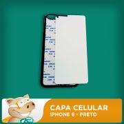 Capa Celular 2D para Sublima��o - Preto - Iphone6