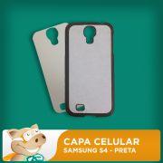 Capa Celular 2D para Sublima��o - Preta - Samsung S4