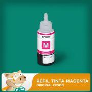 Refil Tinta Magenta Original Epson L200 L210 L355 L555/ Outros