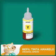 Refil Tinta Amarelo Original L200 L210 L220 L355 L365 L555 L1300/ Outros
