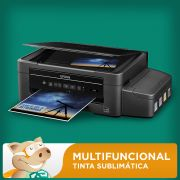 Epson Multifuncional L375 com Bulk + 400ML Tinta Sublim�tica