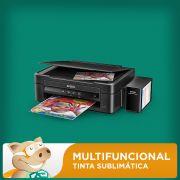 Multifuncional Epson L220 c/ Bulk + 400ml Tinta Sublim�tica