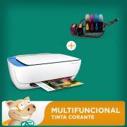 Multifuncional Hp 3636 C/ Bulk Ink+ 240ml Tintas