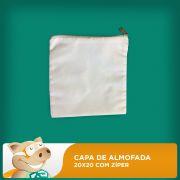 Capa de Almofada ou Necessaire 20x20 Com Z�per