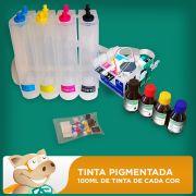 Bulk Ink Epson TX200-TX210-TX300F-TX400-TX410-CX5600 Tinta Pigmentada