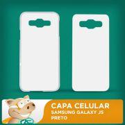 Capa Pl�stica 2D para Sublima��o - Branca - Samsung Galaxy J5