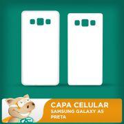 Capa Pl�stica 2D para Sublima��o - Branca - Galaxy A5