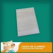 Chapa de Alum�nio Sublim�tico 10cmx15cmx0,4mm (Unidade)