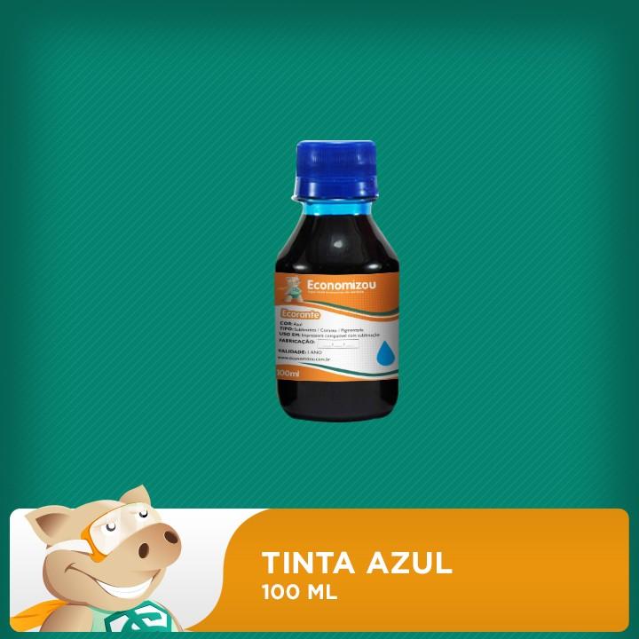 100ml Tinta Corante Epson Azul (Cyan)  - ECONOMIZOU