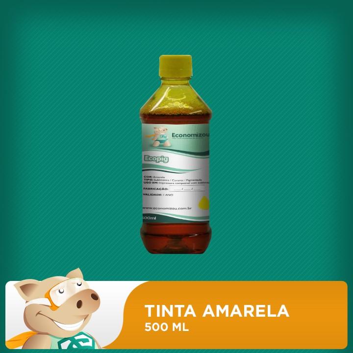 500ml Tinta Pigmentada Epson Amarela (Yellow)  - ECONOMIZOU